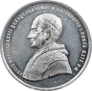 Vatican, Léon XIII, 1887 Rome
