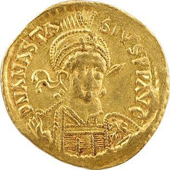 Anastase, solidus, Constantinople, 5e officine, 491-498