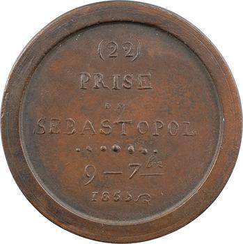 Russie, Guerre de Crimée, prise de Sébastopol, 9 septembre 1855, N° 22, 1855