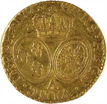 Louis XV, louis d'or à la vieille tête, 1773, 2d semestre, Paris