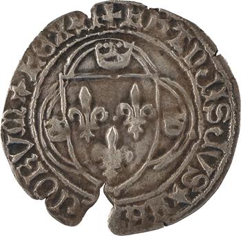 François Ier, grand blanc à la couronne 1er type, Poitiers