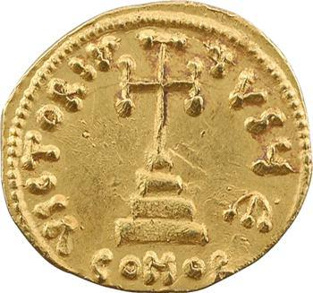 Tibère III, solidus, Constantinople, 5e officine, 698-705