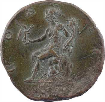 Hadrien, sesterce, Rome, 127