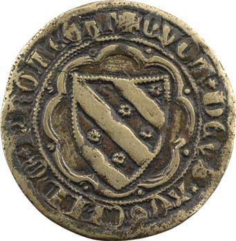 Italie, jeton indéterminé de marchand ou banquier, XVe s. ?