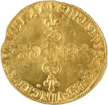 Henri III, écu d'or au soleil 3e type, 1583 Paris