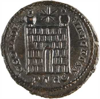 Crispus, nummus, Trèves, 1re officine, 325-326