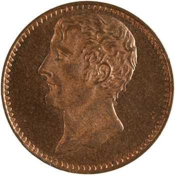 IIe République, essai de 2 centimes effigie de Bonaparte, 1851