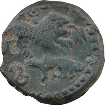 Carnutes, bronze épigraphique au lion, Ire moitié Ier s.