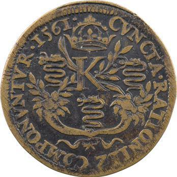 Blois, Charles IX, jeton de la chambre des comptes, s.d