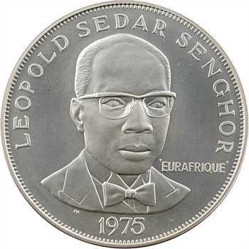 Sénégal, 50 francs, 25e anniversaire Eurafrique, 1975 Paris