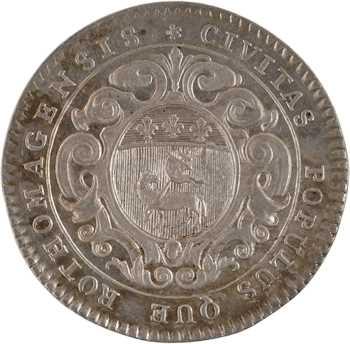 Louis XV, Normandie, la ville de Rouen, s.d. Paris