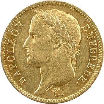 Premier Empire, 40 francs Empire, 1812 Lille