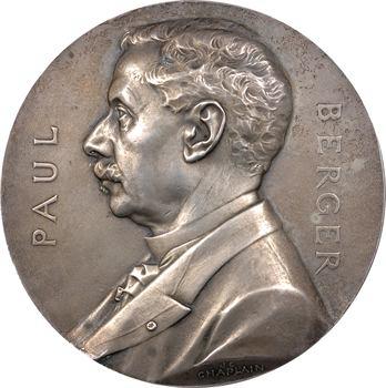 Chaplain (J.-C.) : docteur Berger, médaille bronze argenté, 1907 Paris
