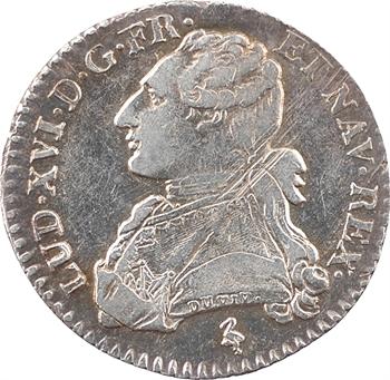 Louis XVI, dixième d'écu aux branches d'olivier, 1784, 1er semestre, Paris