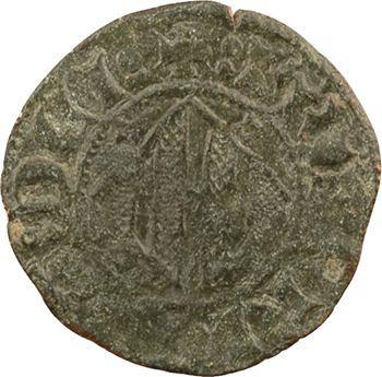 Italie, Sicile (royaume de), Frédéric IV d'Aragon, denier à l'éléphant, Catane