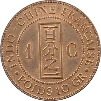 Indochine, 1 centième, 1885 Paris