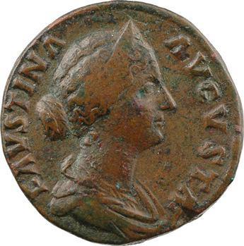 Faustine Jeune, sesterce, Rome, 161-176
