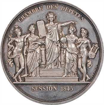 Louis-Philippe Ier, Chambre des députés, par Petit, session 1845, Paris