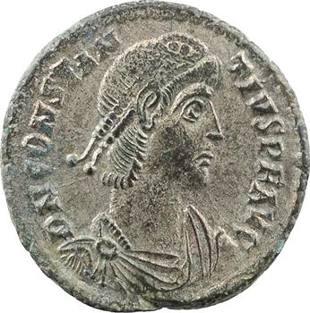 Constance II, follis, Cyzique, 5e officine, 351-354