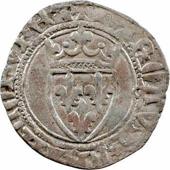 Charles VII, petit blanc ou demi-florette 2e émission, Toulouse