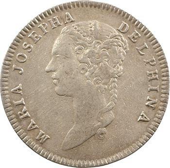 Dauphiné, Marie-Josèphe de Saxe, dauphine, 1749