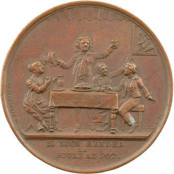 Comte de Chambord, il nous rendra la poule au pot, s.d. (1821) Paris