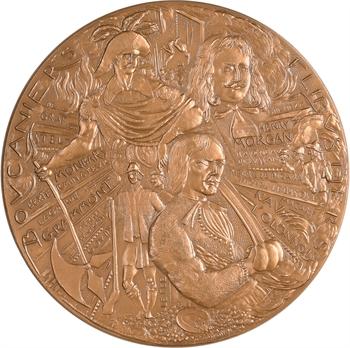 Ve République, Boucaniers et Flibustiers (Grammont, Morgan, Monbars, etc.), par Ammann, 1978 Paris N° 150/500