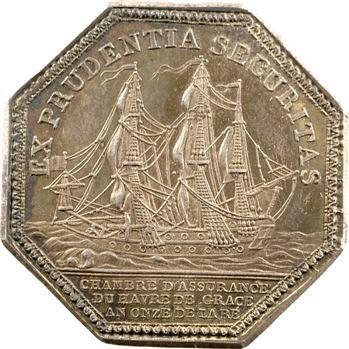 Consulat, Le Havre, Chambres d'assurances, 1802