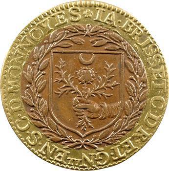 Cour des monnaies, Jacques Brisset, général, 1616, Paris