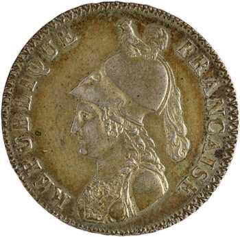 Consulat, essai du 5 décimes de Lorthior, An 8 (1799-1800) Paris