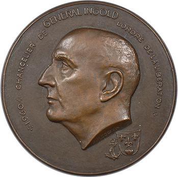 IVe République, le Général Ingold, par Coëffin, 1960 Paris