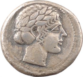 Sicile, Léontini, tétradrachme, c.450-440 av. J.-C