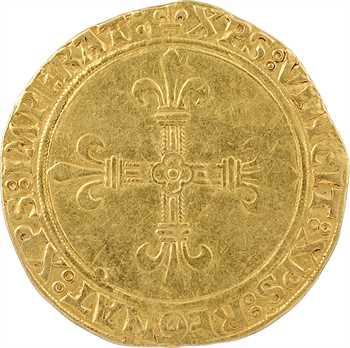 Charles VIII, écu d'or au soleil, 2e émission, Paris