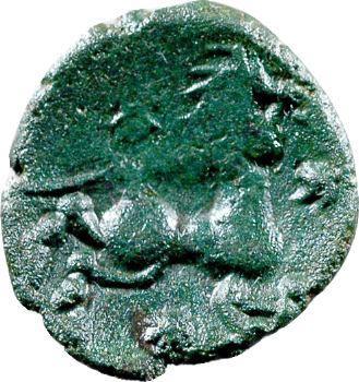 Bellovaques, bronze au personnage agenouillé