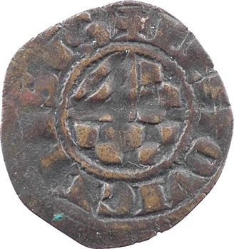Limousin, Limoges (vicomté de), Jean vicomte et futur duc de Bretagne, denier, s.d. (1301-1312) Limoges