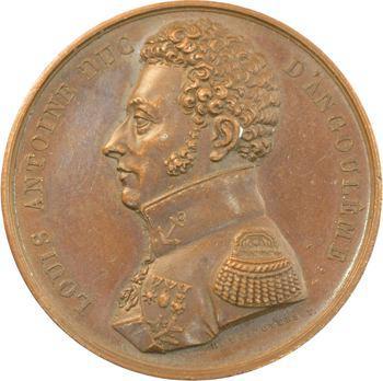 Louis XVIII, protection du duc d 'Angoulême sur l'École polytechnique, 1819 Paris