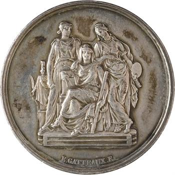 IIIe République, prix d'architecture (Beaux-Arts), par Gatteaux, 1890-1891 Paris