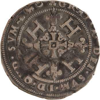 Béarn (seigneurie de), Henri II, demi-franc, 1578 Morlaàs
