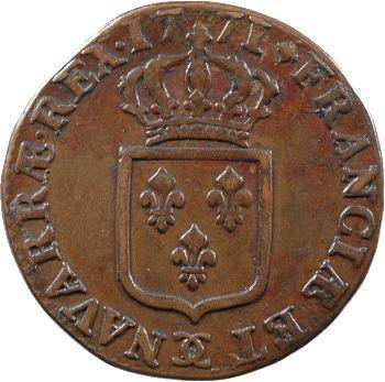 Louis XV, sol à la vieille tête, 1771 Besançon
