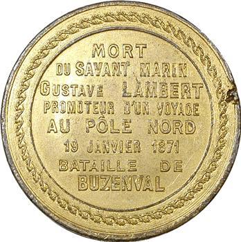 Guerre de 1870, mort de Gustave Lambert, explorateur du Pôle Nord, 1871