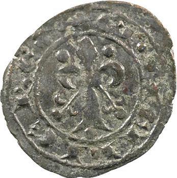 Italie, Sicile (royaume de), Charles Ier d'Anjou, denier au lis, Messine