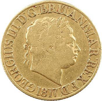 Royaume-Uni, Georges III, souverain, 1817 Londres