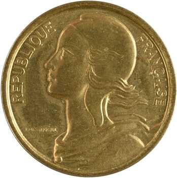 Ve République, essai de 20 centimes par Lagriffoul, 1961 Paris