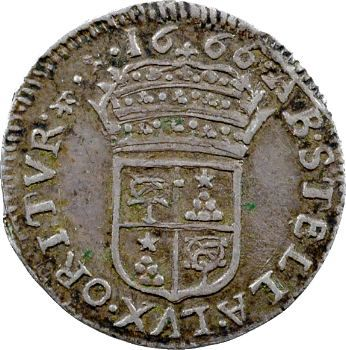 Comtat Venaissin, Alexandre VII et le légat Fabio Chigi, luigino, 1666