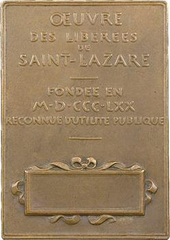 Roty (L.-O.) : œuvre des libérées de Saint Lazare, 1870 Paris (après 1880)