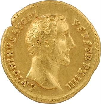 Antonin le Pieux, aureus, Rome, 150-151