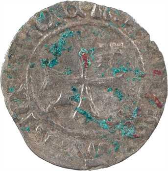 Bretagne (duché de), François II, double à l'hermine, s.d. Nantes