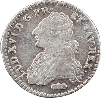 Louis XVI, dixième d'écu aux branches d'olivier, 1785 Perpignan