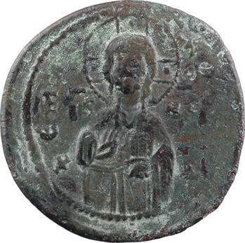 Michel IV ou milieu XIe siècle, follis anonyme, classe C, Constantinople, s.d. (c.1034-1041)