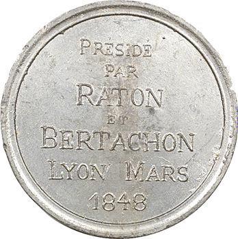 IIe République, Lyon : Club de la Fraternité, 1848 Lyon